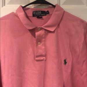 Polo by Ralph Lauren Pink Short Sleeve Polo